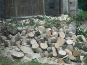 Timber Ready For Splitting